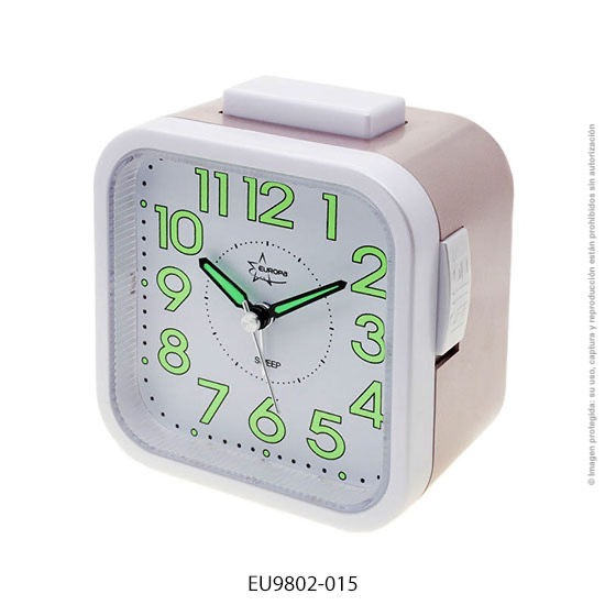 Despertador Europa EU-9802