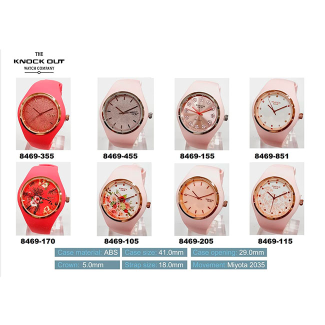 Reloj Knock Out 8469 P1 (Mujer)