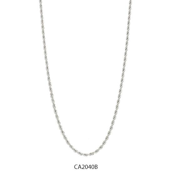 Cadena Acero Blanco Forever CA2040B