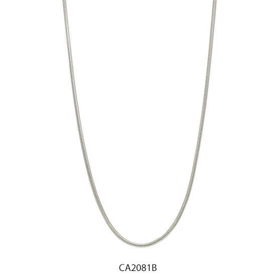 Cadena Acero Blanco Forever 2081B