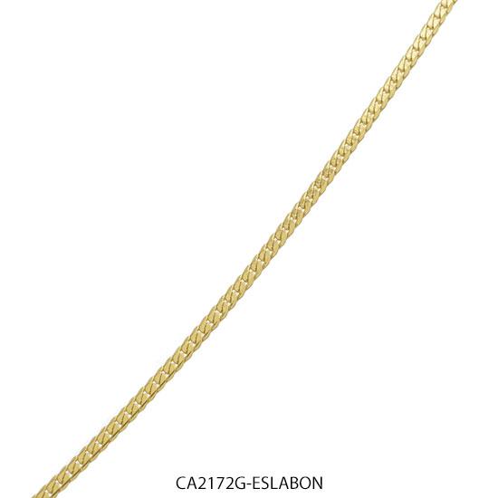 Cadena Acero Dorado Forever 2172G