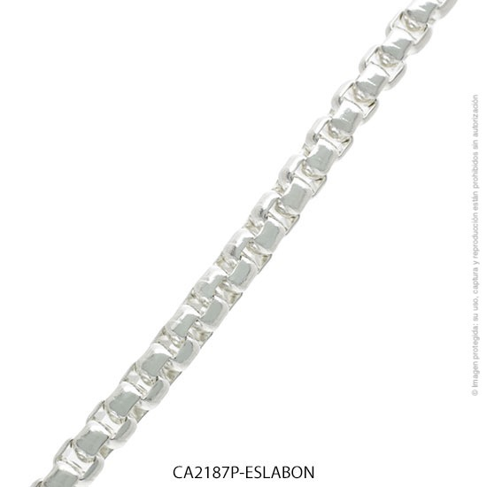 Cadena Acero Blanco Forever 2187P