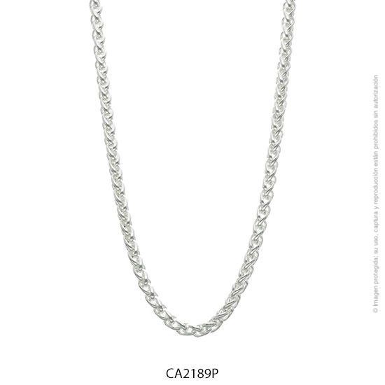 Cadena Acero Blanco Forever 2189P