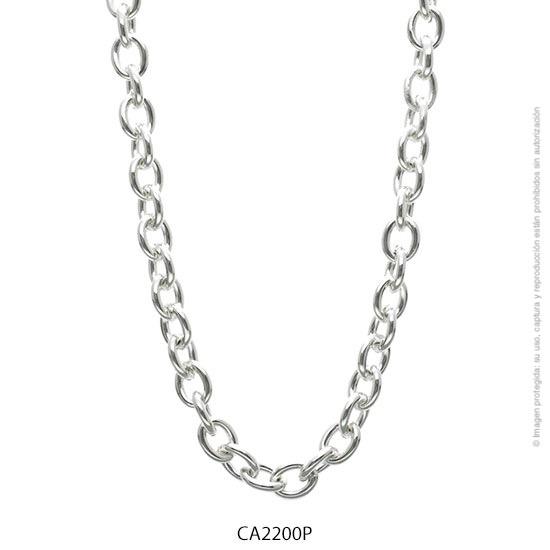 Cadena Acero Blanco Forever 2200P