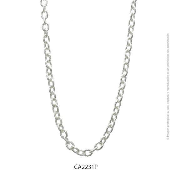 Cadena Acero Blanco Forever 2231P