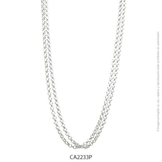 Cadena Acero Blanco Forever 2233P