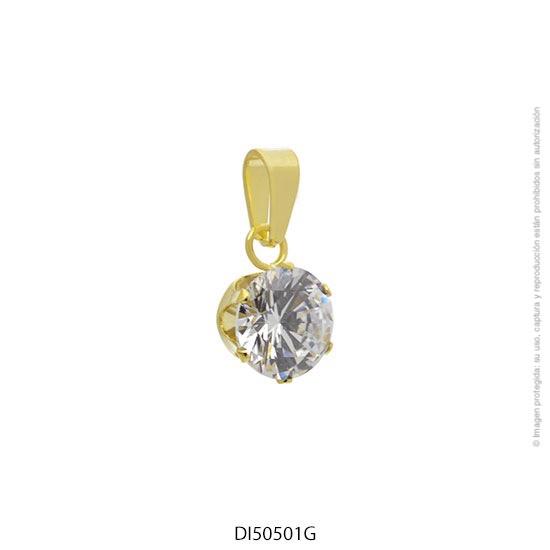Dije Acero Dorado Forever 50501G