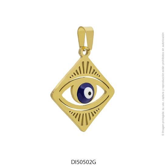 Dije Acero Dorado Forever 50502G