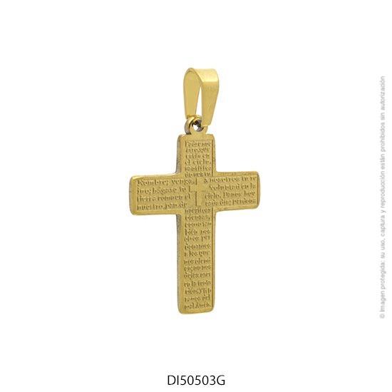 Dije Acero Dorado Forever 50503G