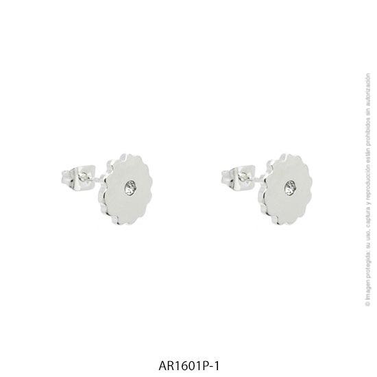 Aro Acero Blanco Forever 1601P-1