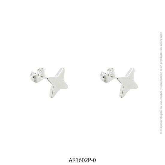 Aro Acero Blanco Forever 1602P-0