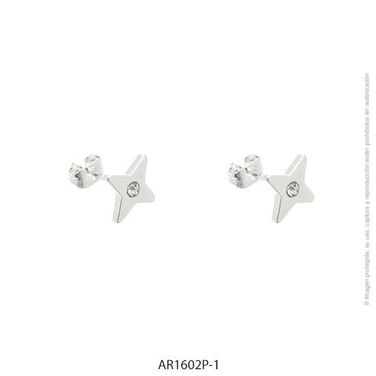 Aro Acero Blanco Forever 1602P-1