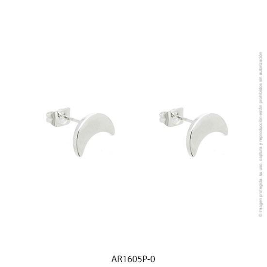 Aro Acero Blanco Forever 1605P-0