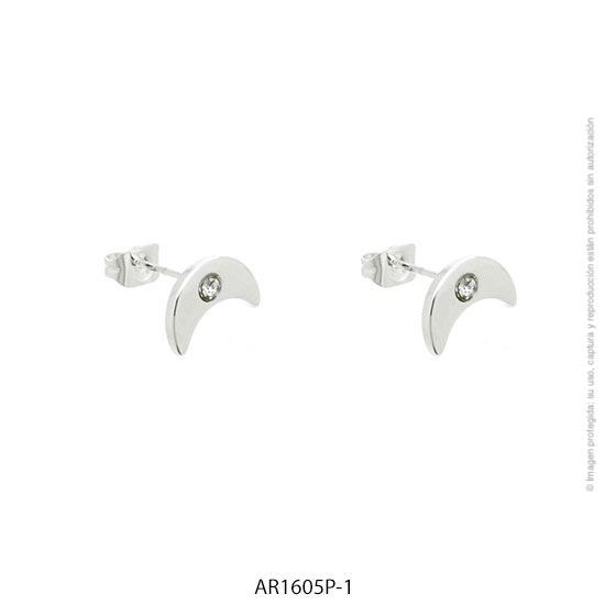 Aro Acero Blanco Forever 1605P-1