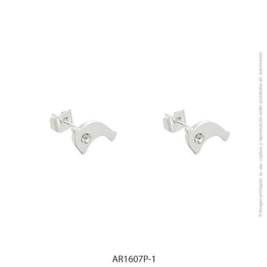 Aro Acero Blanco Forever 1607P-1