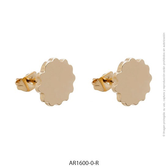 Aro Acero Rosé Forever 1600R-0