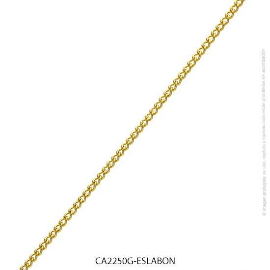 Cadena Acero Dorado Forever 2250G-50