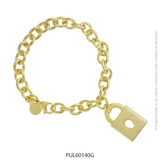Pulsera Acero Dorado Forever 60140G