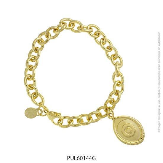 Pulsera Acero Dorado Forever 60144G