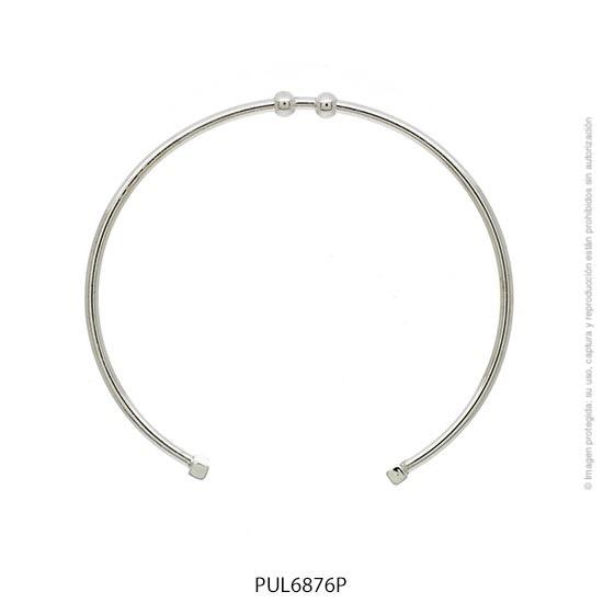 Pulsera Acero Blanco Forever 6876P