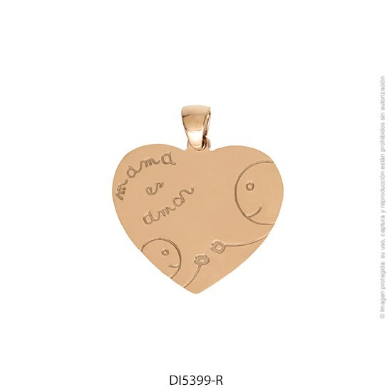 Dije Acero Rosé Forever 5399R