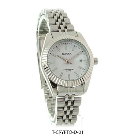 Crypto D- Reloj Tressa Mujer