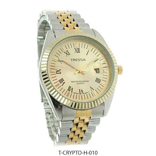 Crypto H - Reloj Tressa Hombre